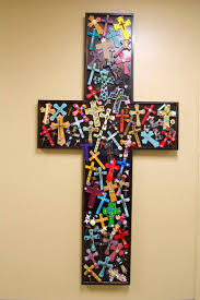 Decorative Wooden Crosses For Wall Best 25 Wooden Cross Crafts Ideas On Pinterest Burlap Cross