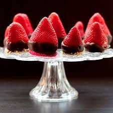 chocolate covered cheesecake strawberries june reciperedux