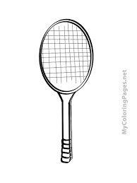 racket free coloring book pages print color free