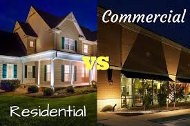 Residential Landscape Lighting Residential And Commercial Lighting How Are They Different