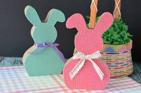 easter bunny decorations craft create cook 5 minute diy easter decorations craft create