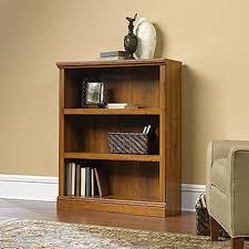 Sauder 3 Shelf Bookcase Cherry Wood 3 Shelf Bookcase Abby Oak Roselawnlutheran
