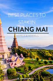 where to stay in chiang mai thailand best hotels hostels