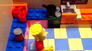 lego simpsons shorts episode 4 take the turkey and run simpsons