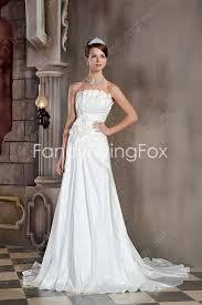 flowy bridesmaid dresses ivory strapless chiffon flowy wedding dresses at fancyflyingfox