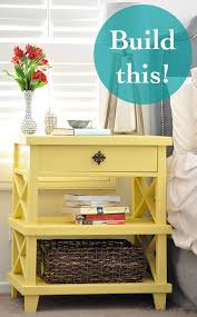 How To Build A End Table With Drawer by Diy Pottery Barn Inspired Nightstand Free Plans Anika U0027s Diy Life