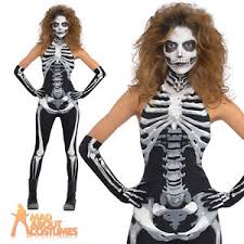 skeleton costumes skeleton costume catsuit bones jumpsuit