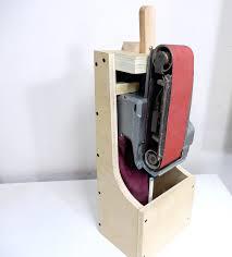 bench belt sander for knife making bench decoration