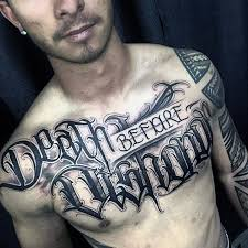 Chest Tattoos - 60 badass chest tattoos for manly ink design ideas