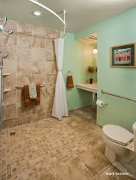 Accessible Bathroom Designs by Lansdale Universal Bathroom Harth Builders