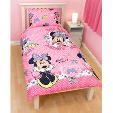 Minnie Mouse Toddler Bed Duvet