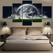 earth home decor home decor u0026 jewelry moodboard new hot home decor 5 piece green earth wall pictures canvas abstract painting canvas art living room print decor