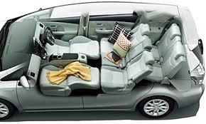 Toyota Prius Interior Dimensions Toyota Prius Alpha G Touring Selection Catalog Reviews Pics