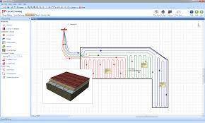 radiant floor heating system design software meze