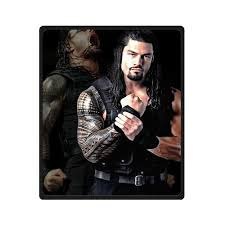 Wwe Bedding Fashion Press Creative Blanket Wwe Roman Reigns Blanket 50x60 Inch