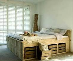 Bed Frame Made From Pallets Beds Made From Pallets Diy 20 Pallet Bed Frame Ideas Meedee Designs