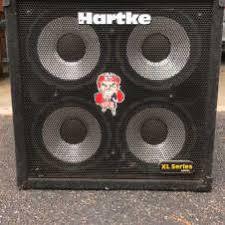 hartke 410xl bass cabinet hartke in bass cabinets reverb