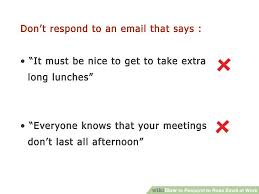 how to respond to rude email at work 13 steps with pictures