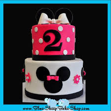 minnie mouse birthday cake minnie mouse 2nd birthday cake blue sheep bake shop