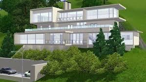 homes built into hillside modern hillside house designs plans homes steep home cabin built