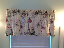 Eiffel Tower Window Curtains by Paris Window Valance Curtains Paris Paris Decor Paris