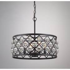 Family Room Light Fixture by Home Decorators Collection Lattice 4 Light Antique Bronze Pendant
