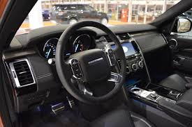 discovery land rover 2017 2017 land rover discovery interior at 2016 bologna motor show