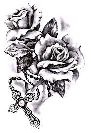 cross with roses tattoo tatoos u003c3 pinterest tattoo tatting