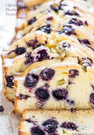 lightened up blueberry lemon pound cake averie cooks