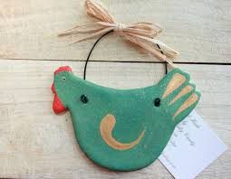 Easter Kitchen Decorations by 5 1 2 U0027 U0027 Hen Primitive Wall Hanging Ornament Kitchen Decorations
