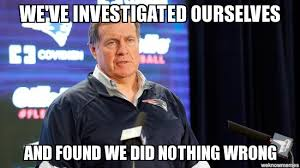 Bill Belichick Memes - bill belichick investigated this deflategate know your meme