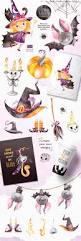 Halloween Graphics For Facebook by Happy Halloween Bundle Illustrations Creative Market
