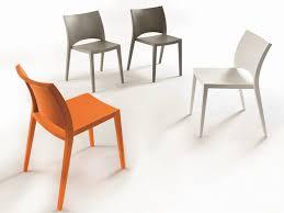 bontempi sedia sedia impilabile in polipropilene aqua bontempi