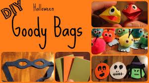 halloween bags halloween goody bags 5 fun crafts youtube