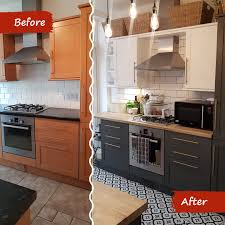 painting kitchen cabinets frenchic frenchic furniture paint kitchen transformation