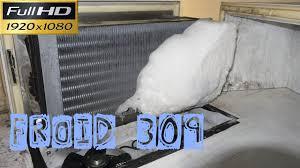 groupe monobloc chambre froide froid309 prise en glace dans une chambre froide négative sur un