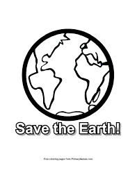 earth day coloring page recycle primarygames play free online