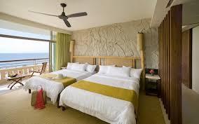 chambre exotique design interieur chambre exotique tête lit bambou décoration murale