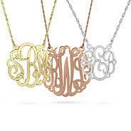 monogram jewelry cheap monogram jewelry at things remembered