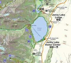 grand national park map day hikes of grand teton national park map guide hike 734