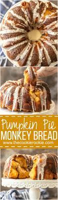 pumpkin pie monkey bread the cookie rookie