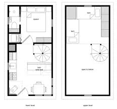 12 24 tiny house floor plans free house plans
