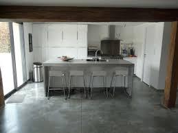 cuisine en beton le béton comme ingrédient d une cuisine industrielle