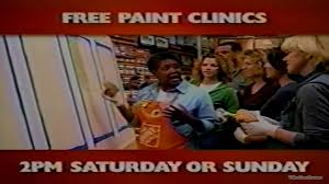 home depot behr paint commercial 2002 youtube