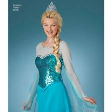 frozen costume pattern for misses frozen costumes simplicity
