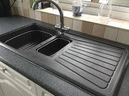 Resin Kitchen Sinks Blanco Granite Composite Sinks Quartz Kitchen Sinks Blanco Black