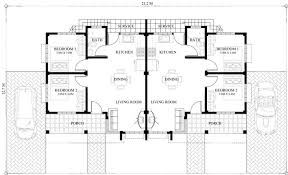 deck floor plan conchita 2 bedroom duplex house plan