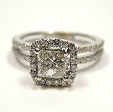 square style rings images Reserved 1 20ct antique vintage style square princess diamond jpg