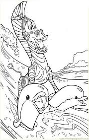 madagascar coloring pages coloring