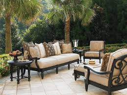 Outside Patio Furniture by Outdoor Patio Furniture Sets Iron Stylish Contemporary Outdoor